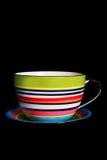 изолированный чашкой чай упорки Стоковое Фото