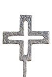 Изолированный черный немецкий крест войны Стоковая Фотография RF