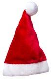 Изолированный шлем эльфа Santa Claus рождества Стоковое Изображение RF
