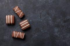 изолированный шоколадом трюфель помадок Стоковое Изображение RF