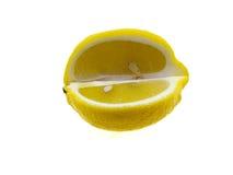 изолированный этап лимона Стоковая Фотография RF