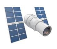изолированный 3d космический телескоп исследования Стоковые Изображения