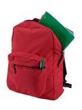 изолированный backpack Стоковая Фотография