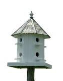 изолированный birdhouse Стоковые Фото
