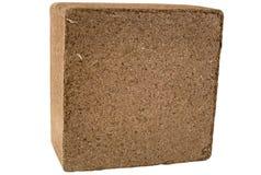 изолированный coir кокоса bale стоковые фото