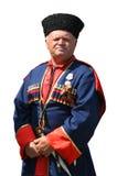 изолированный cossack 2 Стоковое Фото