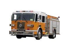 изолированный firetruck стоковые фото