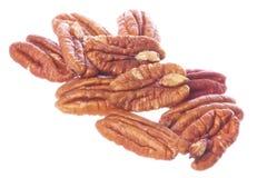 изолированный nuts пекан Стоковые Изображения RF