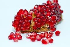 изолированный pomegranate Стоковое Изображение
