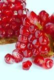 изолированный pomegranate Стоковое Фото