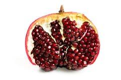 изолированный pomegranate Стоковые Фотографии RF