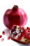 изолированный pomegranate Стоковые Фото