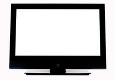 изолированный tv Стоковое Изображение RF