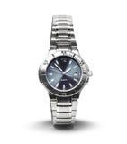 Изолированный wristwatch людей Стоковое Изображение