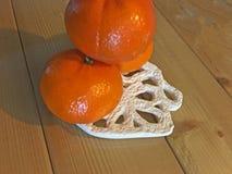 Изолят апельсина мандарина Стоковое Изображение