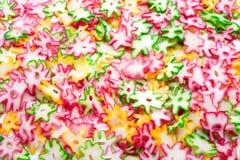 Изолят конфеты и десерта обломока Стоковые Фотографии RF