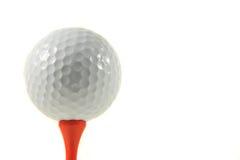 изоляция гольфа шарика Стоковые Фото