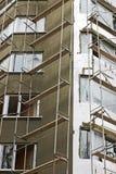 изоляция жары здания Стоковое Изображение