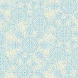 Изощренная современная линия картина снежинок стиля безшовная иллюстрация штока