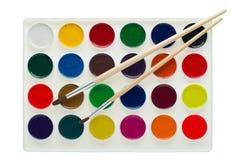 изолированная акварель красок Стоковое Изображение RF