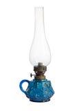 Изолированная лампа керосина на белизне Стоковое Фото