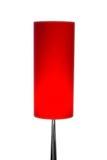 Изолированная лампа красного цвета современного дизайна Стоковая Фотография RF