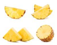 изолированная белизна ананаса Стоковые Изображения