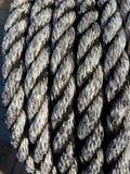 изолированная белизна веревочки Стоковая Фотография RF