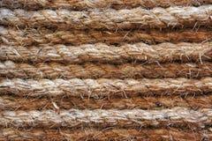 изолированная белизна веревочки Стоковая Фотография