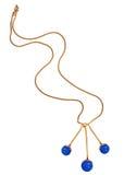 изолированная белизна ожерелья Стоковое фото RF