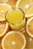 изолированная белизна сока померанцовая Стоковое фото RF