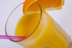 изолированная белизна сока померанцовая Стоковая Фотография RF