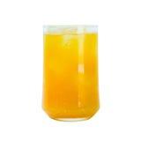 изолированная белизна сока померанцовая Стоковое Изображение