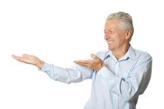 изолированная белизна человека Стоковая Фотография RF