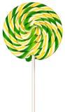 изолированная белизна lollipop Стоковое Фото