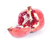 изолированная белизна pomegranate Стоковые Фотографии RF