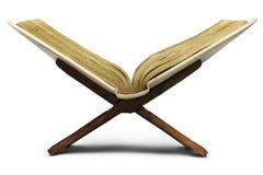 изолированная библия Стоковая Фотография