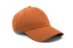 Изолированная боковина из цветного каучука моды оранжевая Стоковое Изображение RF