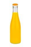 Изолированная бутылка апельсинового сока Стоковая Фотография RF