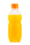 Изолированная бутылка апельсинового сока Стоковое Изображение