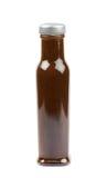 Изолированная бутылка соуса барбекю Стоковая Фотография
