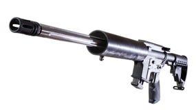 Изолированная винтовка стоковое фото rf