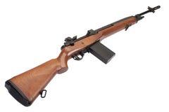 Изолированная винтовка M14 стоковые изображения