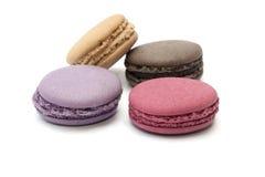Изолированная еда Macaron стоковые фото