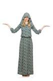 изолированная женщина Стоковые Фотографии RF