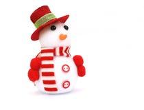 Изолированная игрушка снеговика Стоковые Фото