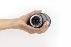изолированная камерой белизна объектива Стоковое Изображение RF
