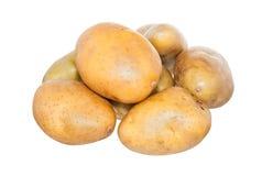 Изолированная картошка на белизне Стоковые Изображения