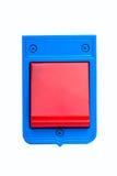 Изолированная кнопка электрического звонка Стоковое Изображение RF