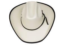 Изолированная ковбойская шляпа стоковые фото